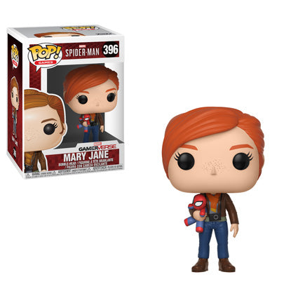 Funko POP! Spider-Man - Mary Jane with Plush Vinyl Figure #396