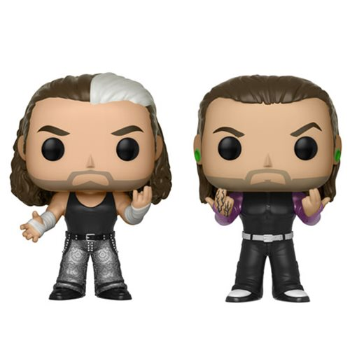 Funko POP! WWE - Hardy Boyz 2-Pack Vinyl Figures