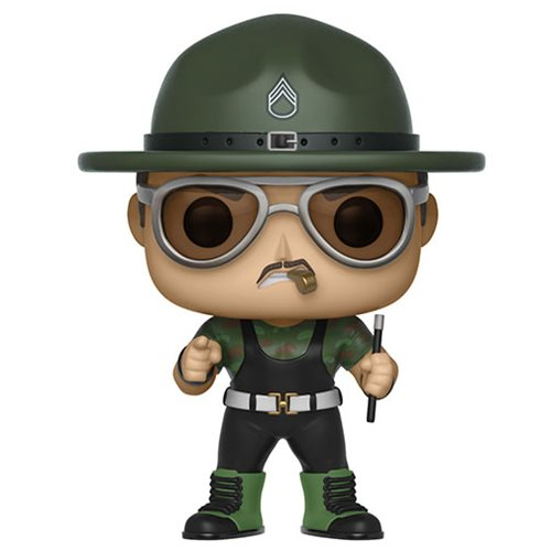 "Funko POP! WWE - ""Ten-hut!"" Sgt. Slaughter Vinyl Figure"