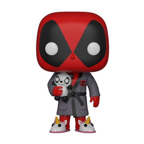 Funko POP! Deadpool - Playtime Deadpool in Robe Vinyl Figure
