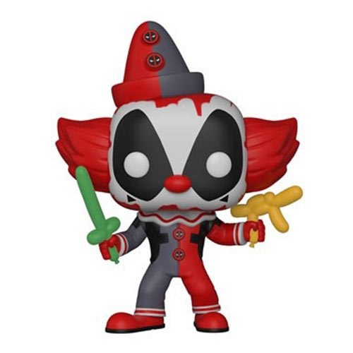 Funko POP! Deadpool - Playtime Deadpool Clown Vinyl Figure