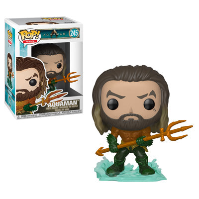 Funko POP! Aquaman - Arthur Curry as Aquaman Vinyl Figure #245