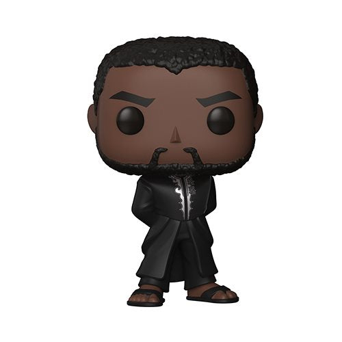 Funko POP! Black Panther - Black Panther in Black Robe Vinyl Figure #351