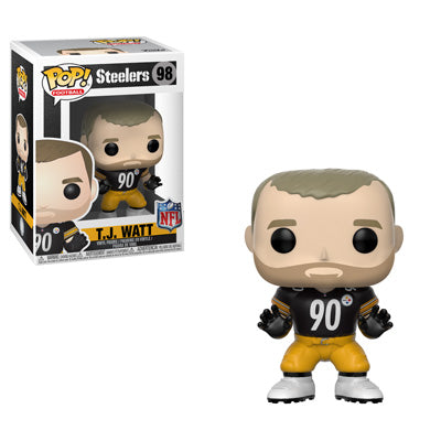 Funko POP! NFL: Steelers - TJ Watt Vinyl Figure #98