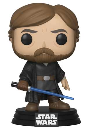 Funko POP! Star Wars: The Last Jedi - Luke Skywalker (Final Battle) Vinyl Figure