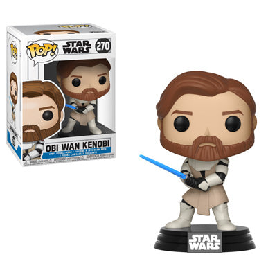 Funko POP! Star Wars: The Clone Wars - General Obi-Wan Kenobi™ Vinyl Figure #270