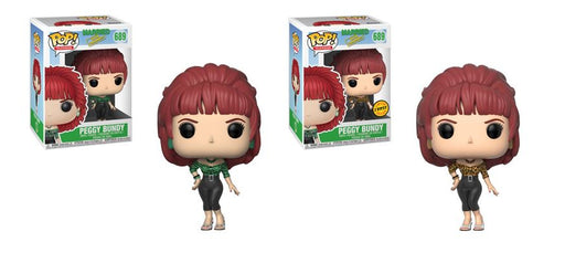 Funko POP! Married with Children - Peggy Bundy Common and Chase Bundle Set #689