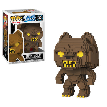 Funko POP! Altered Beast - 8-Bit Werewolf Vinyl Figure #32