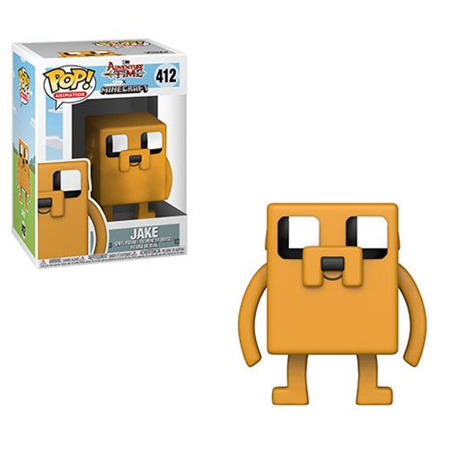 Funko POP! Adventure Time x Minecraft - Jake Vinyl Figure #412