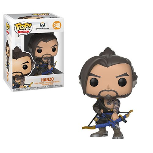 Funko POP! Overwatch - Hanzo Vinyl Figure #348