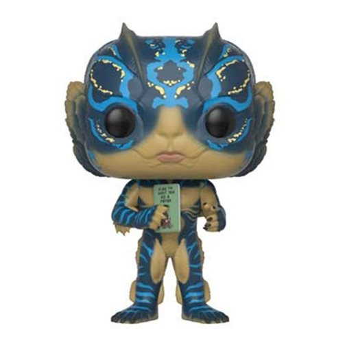 Funko POP! The Shape of Water - Amphibian Man with Card Vinyl Figure