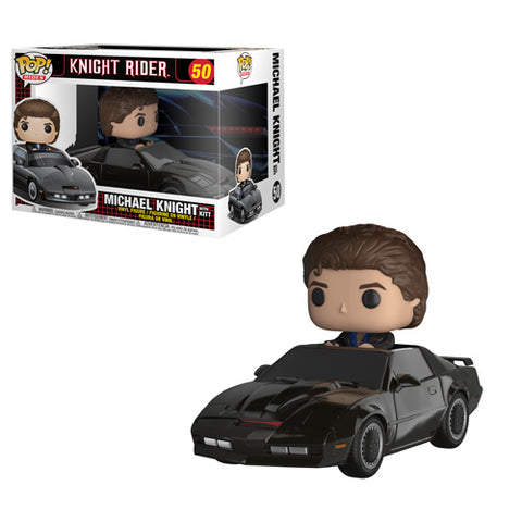 [PRE-ORDER] Funko POP! Rides: Knight Rider - Michael Knight with Kitt Vinyl Figure #50