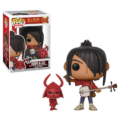 Funko POP! KUBO - KUBO with Little Hanzo Vinyl Figure #650