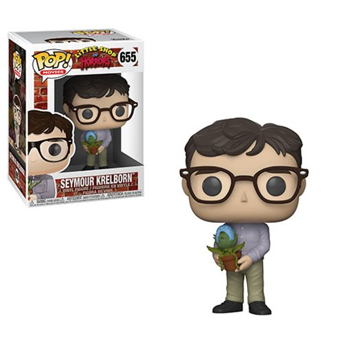 Funko POP! Little Shop of Horror - Seymour Krelborn with Audrey II Vinyl Figure #655
