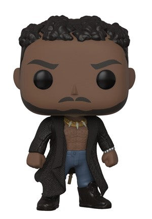 Funko POP! Black Panther - Erik Killmonger with Scar Vinyl Figure #386