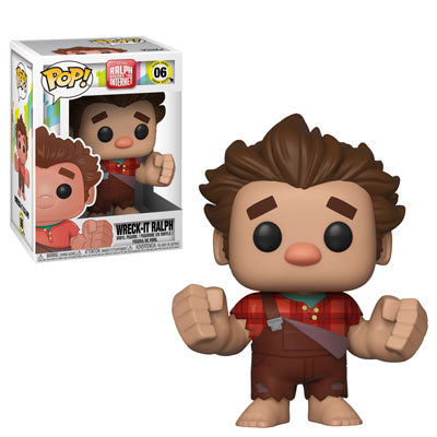 Funko POP! Ralph Breaks the Internet - Wreck-It Ralph Vinyl Figure #06