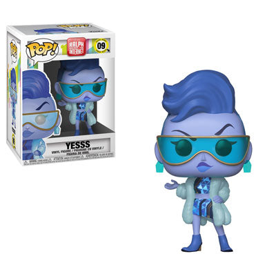 Funko POP! Ralph Breaks the Internet - Yesss Vinyl Figure #09