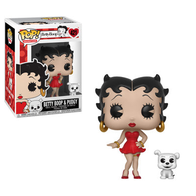 Funko POP! Betty Boop™ - Betty Boop and Pudgy Vinyl Figure #421