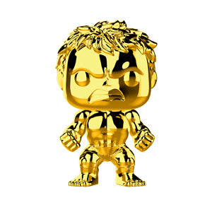 Funko POP! Marvel Studio - Hulk Gold Chrome Vinyl Figure