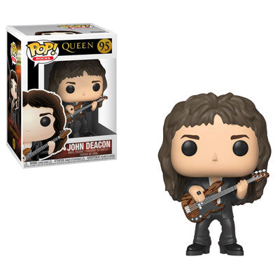 Funko POP! Rocks: Queen - John Deacon Vinyl Figure #95