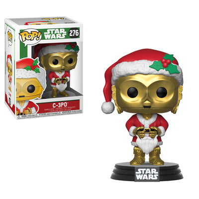 [PRE-ORDER] Funko POP! Star Wars: Holiday - C-3PO as Santa Vinyl Figure #276