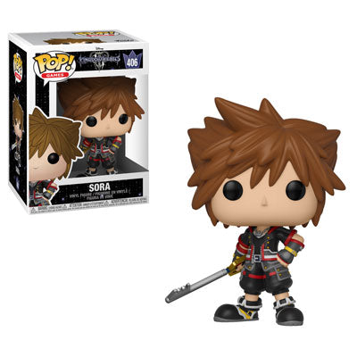 Funko POP! Kingdom Hearts 3 - Sora Vinyl Figure #406