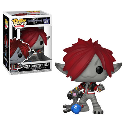 Funko POP! Kingdom Hearts 3 - Sora (Monster's Inc) Vinyl Figure #408