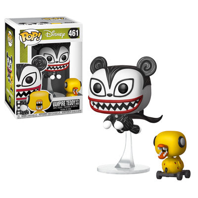 Funko POP! Nightmare Before Christmas - Vampire Teddy with Undead Duck Vinyl Figure #461