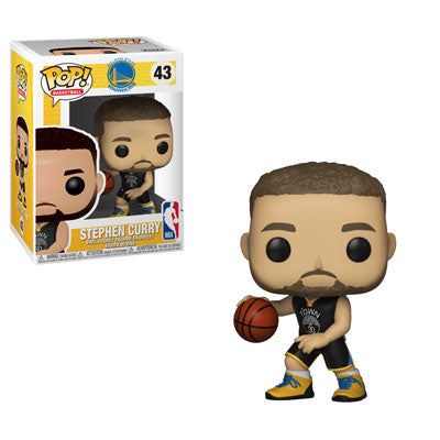 Funko POP! NBA: Warriors - Stephen Curry Vinyl Figure #43