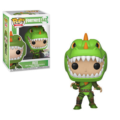 Funko POP! Fortnite - Rex Vinyl Figure #443