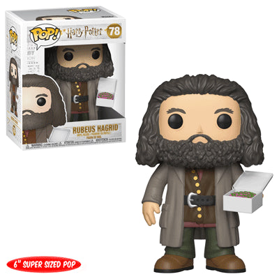 Funko POP! Harry Potter - Rubeus Hagrid with Cake 6-Inch Vinyl Figure #78