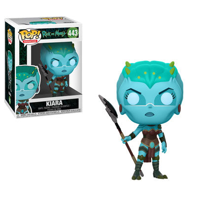 Funko POP! Rick and Morty - Kiara Vinyl Figure #443