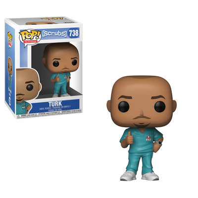 Funko POP! Scrubs - Turk Vinyl Figure #738