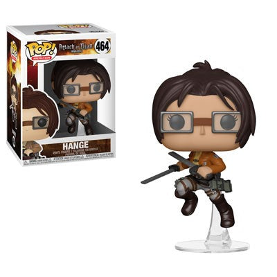 Funko POP! Attack on Titan - Season 3 Hange Vinyl Figure #464