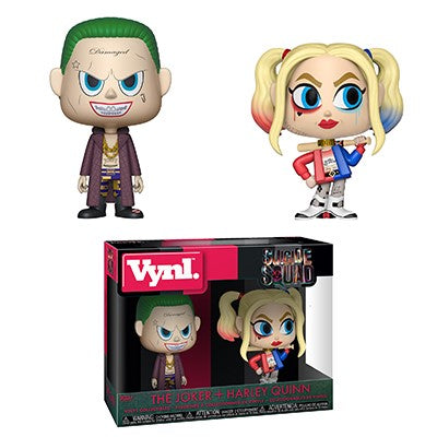 [PRE-ORDER] Funko VYNL: Suicide Squad - The Joker and Harley Quinn Vinyl Figures