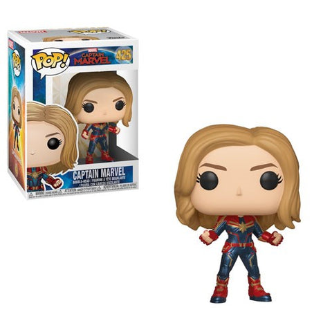 [PRE-ORDER] Funko POP! Captain Marvel - Captain Marvel Common Vinyl Figure #425