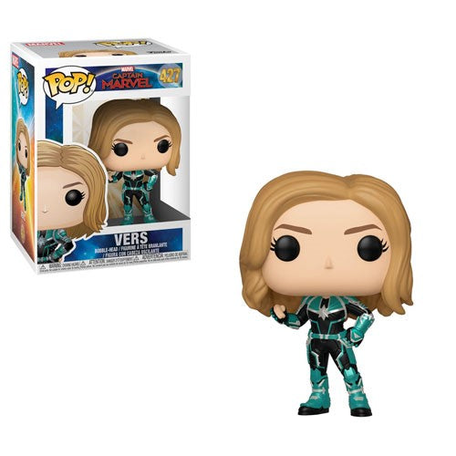 Funko POP! Captain Marvel - Vers Vinyl Figure #427