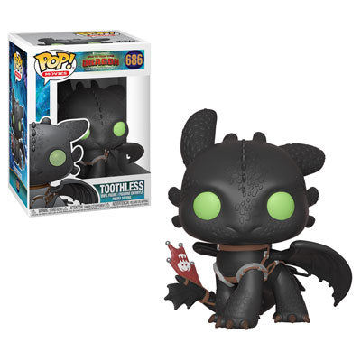 Funko POP! How To Train Your Dragon - Toothless Vinyl Figure #686