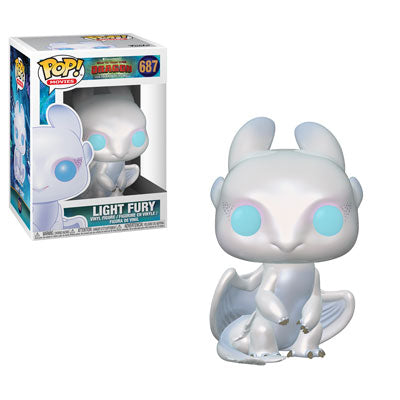 Funko POP! How To Train Your Dragon - Light Fury Vinyl Figure #687