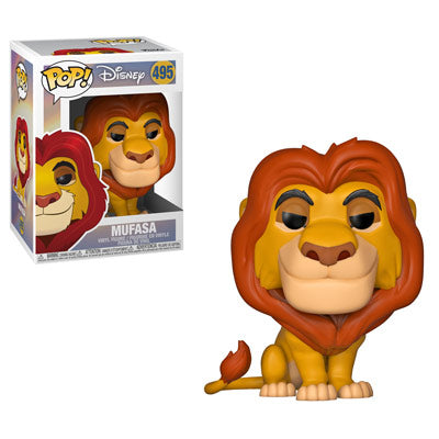 Funko POP! Lion King - Mufasa Vinyl Figure #495