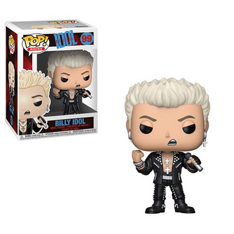Funko POP! Rocks: Billy Idol - Billy Idol Vinyl Figure #99