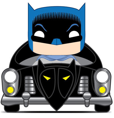 Funko POP! Rides: Batman 80th - 1950 Batmobile Vinyl Figure