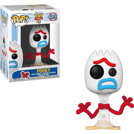 Funko Pop Toy Story 4 Forky Sad Vinyl Figure 534 Exclusive Read Shumi Toys Gifts