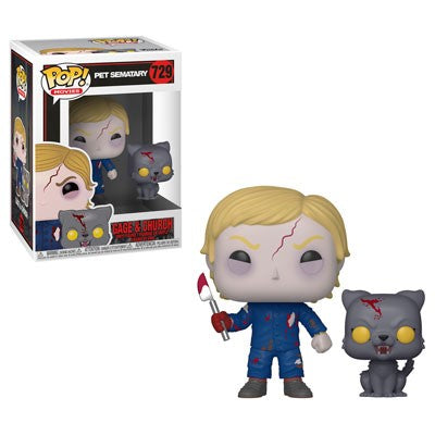 Funko POP! Pet Sematary - Undead Gage and Church Vinyl Figure #729