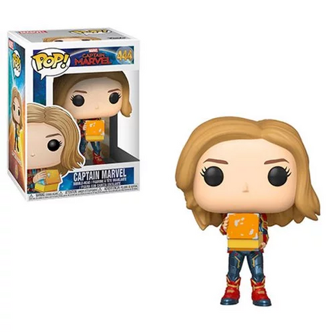 [PRE-ORDER] Funko POP! Captain Marvel - Captain Marvel Holding Lunchbox Vinyl Figure #444