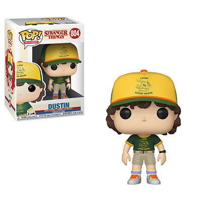 [PRE-ORDER] Funko POP! Stranger Things - Dustin (At Camp) Outfit Vinyl Figure #804