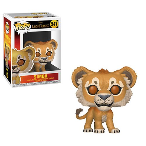 Funko POP! The Lion King (Live Action) - Simba Vinyl Figure #547