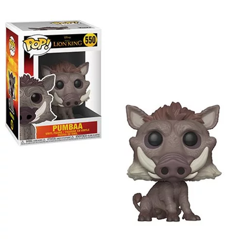 Funko POP! The Lion King (Live Action) - Pumbaa Vinyl Figure #550
