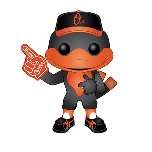 Funko POP! MLB® Mascots - Baltimore Orioles The Oriole Bird Vinyl Figure #10