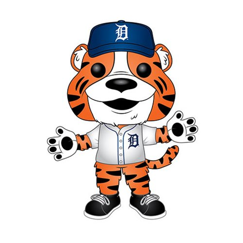 Funko POP! MLB® Mascots - Detroit Tigers Paws Vinyl Figure #11